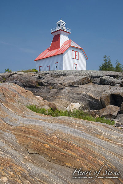 Jones Island Lighthouse, Jones Island, Georgian Bay. Photo by Sean Tamblyn.