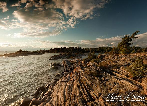 Franklin Island Sunset, Franklin Island, Georgian Bay. Photo by Sean Tamblyn.