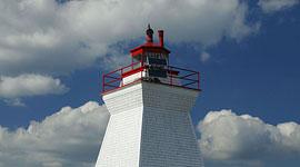 Lighthouse, Bustard Islands, Georgian Bay