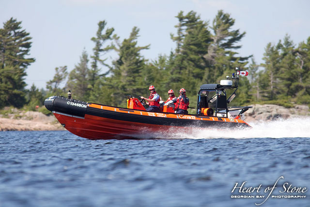 Canadian Coast Guard, Byng Inlet, Georgian Bay