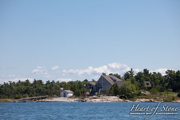 Large cottage, Franklin Island, Georgian Bay