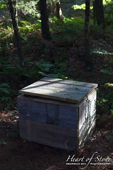 Thunder box, Franklin Island, Georgian Bay