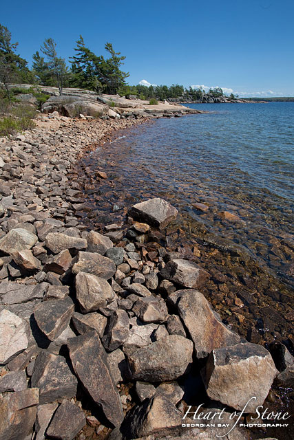 Rocky shoreline, Killbear Provincial Park, Georgian Bay