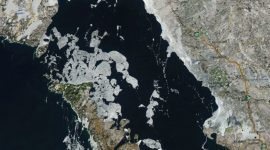 Georgian Bay Icewatch, March 6 2018, NOAA MODIS 250m