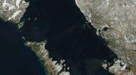 Georgian Bay Icewatch, April 23 2018, NOAA MODIS 250m
