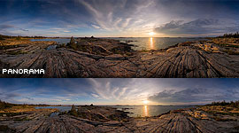 Churchill Island Sunset, Churchill Islands, Georgian Bay. Photo by Sean Tamblyn.