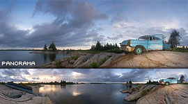 1957 Chevy, Bourchier Islands, Georgian Bay. Photo by Sean Tamblyn.