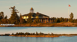 Duquesne Lodge, Duquesne Island, Georgian Bay