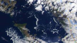 Georgian Bay Ice Watch, May 4 2014, NOAA Modis 250m