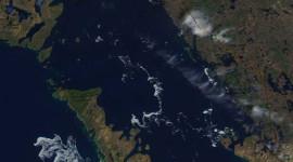 Georgian Bay Ice Watch, May 6 2014, NOAA MODIS 250m