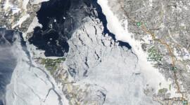 Georgian Bay Ice Watch, Mar 23 2015, NOAA MODIS 250m